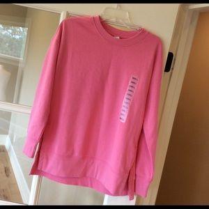 Oversized Sweatshirt Womens Small Long Sleeve New
